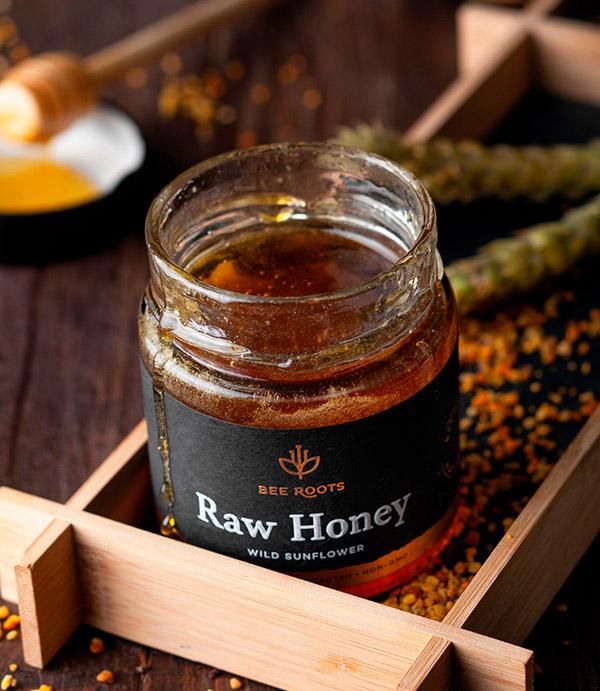 Organic Honey from BeeRoots