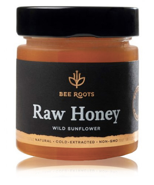 BeeRoots Wild Sunflower Honey
